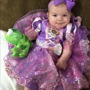 3-6 month Disney rupunzel costume